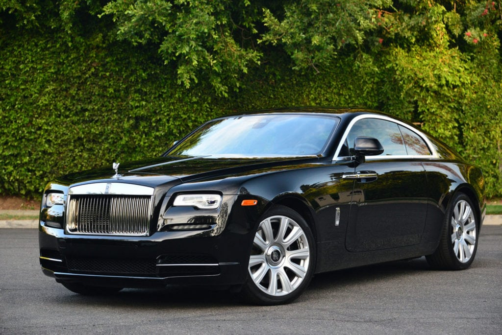 Rent A Rolls Royce Wraith In Los Angeles Exotic Car