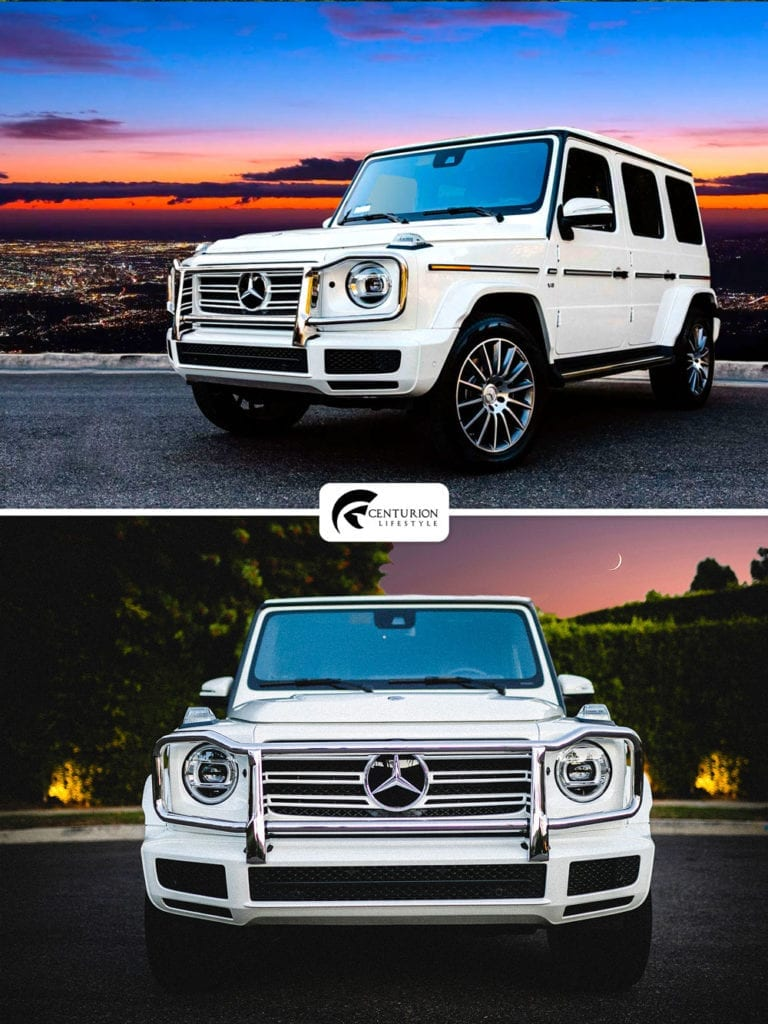 Rent a Mercedes G Wagon
